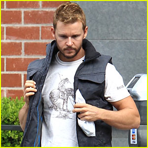 Ryan Kwanten Looks Buff Stepping Out in Beverly Hills
