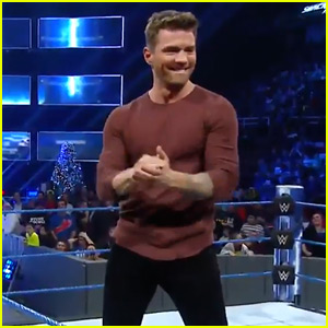 VIDEO: Ryan Phillippe Gets Into the Ring for WWE, Son Deacon Chears Him On!