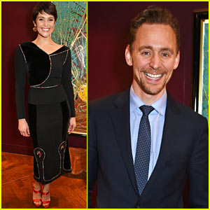 Tom Hiddleston Supports Gemma Arterton as Leading Lady in 'Saint Joan'
