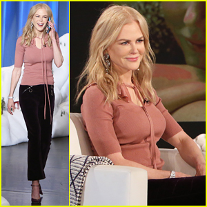 VIDEO: Nicole Kidman Visits 'Ellen' After Scoring Golden Globes Nomination!
