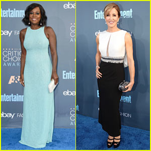 Viola Davis & Felicity Huffman Look Super Sophisticated at Critics' Choice Awards 2016