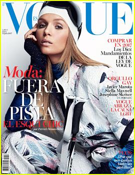 'Victoria's Secret' Angel Josephine Skriver Lands Debut 'Vogue' Cover With 'Vogue Espana'