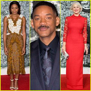 Will Smith, Naomie Harris & Helen Mirren Premiere 'Collateral Beauty'