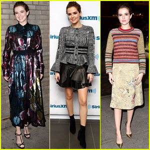 Zoey Deutch Rocks Four Looks for One Big Day of Press!
