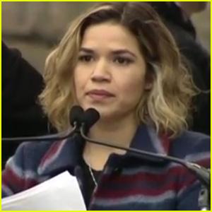 VIDEO: America Ferrera Speaks at Women's March 2017: 'We Are America'