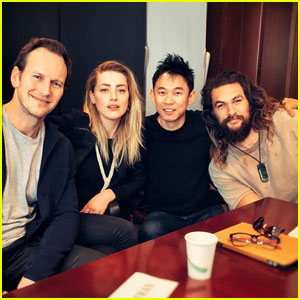 'Aquaman' Cast Gets Together for Table Read!