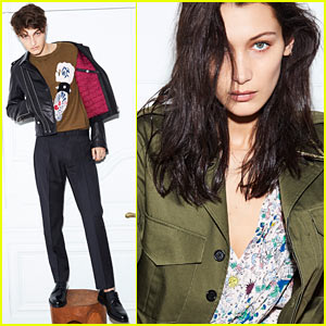 Bella Hadid Teams Up With Brother Anwar for Zadig & Voltaire Spring/Summer 2017 Campaign