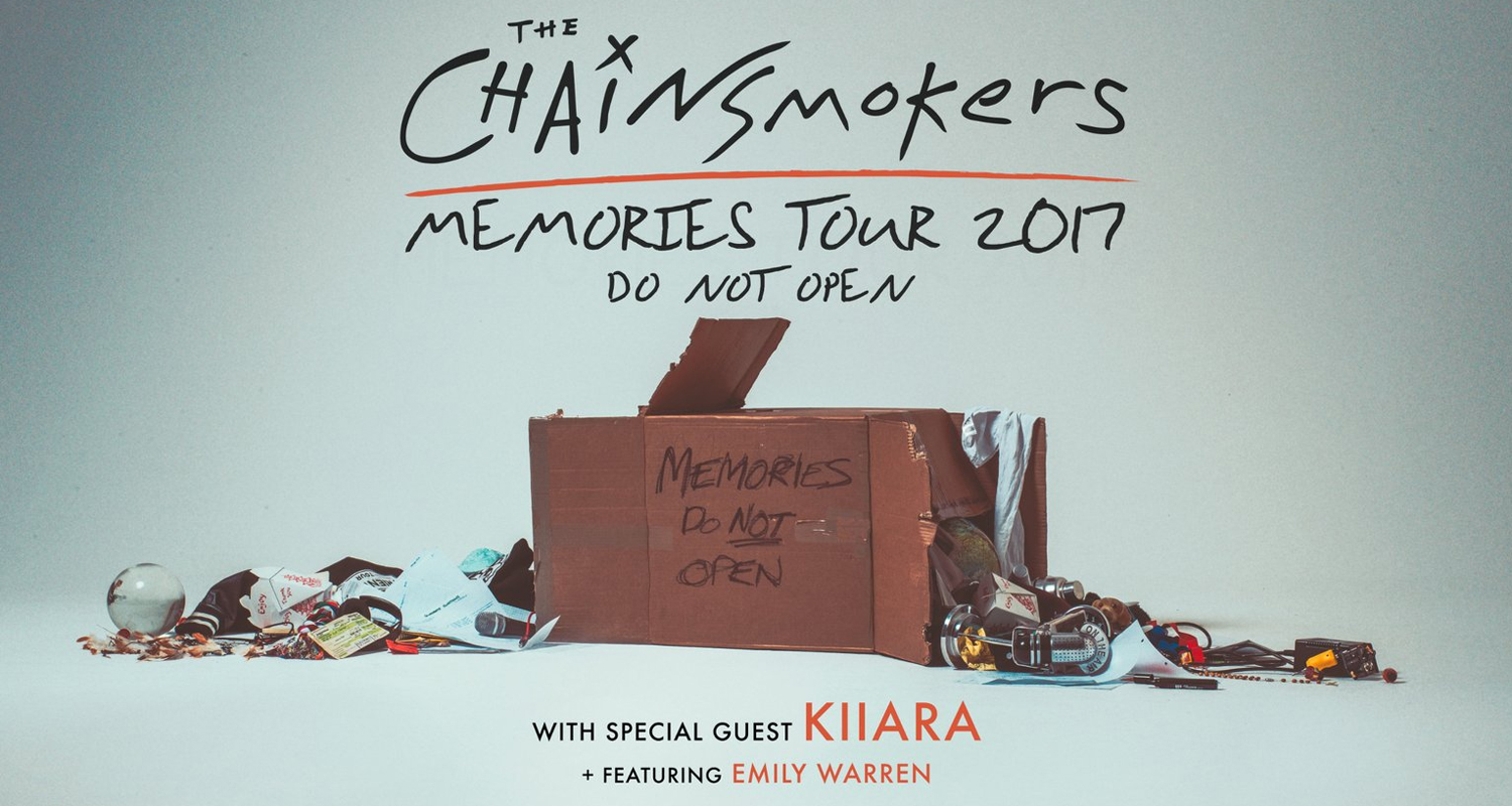 Chainsmokers tour dates in Brisbane