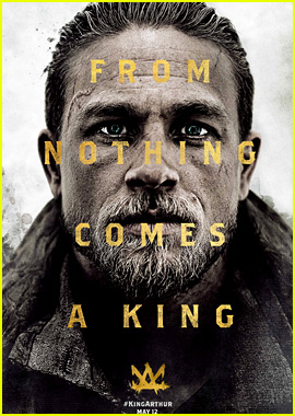 Charlie Hunnam's 'King Arthur' Poster Makes Its Debut!