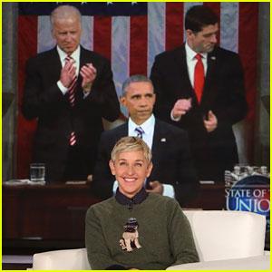 VIDEO: Ellen DeGeneres Pays Tribute to Barack Obama For Last Day as President