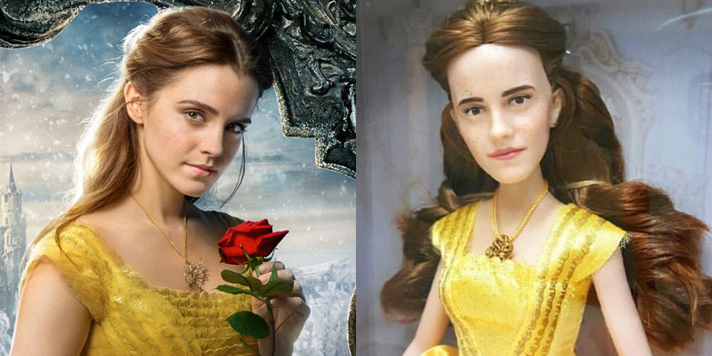 Someone Repainted Emma Watson's Belle Doll to Make It More Realistic