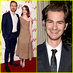 Emma Stone & Andrew Garfield Reunite at AFI Awards Honoring Their Movies!