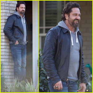 Gerard Butler Gets to Work Filming 'Den of Thieves'