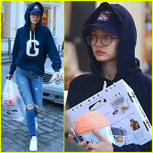 Gigi Hadid Keeps a Low Profile While Out in NYC