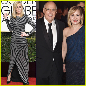 Jeffrey Tambor & 'Transparent' Cast Step Out at Golden Globes 2017