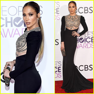Jennifer Lopez Wins Favorite Actress in TV Crime Drama at People's Choice Awards 2017!