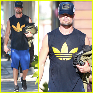 Josh Duhamel Hosts a Sausage Party!
