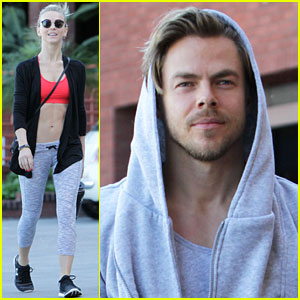 Julianne & Derek Hough Host First Move Interactive of 2017!