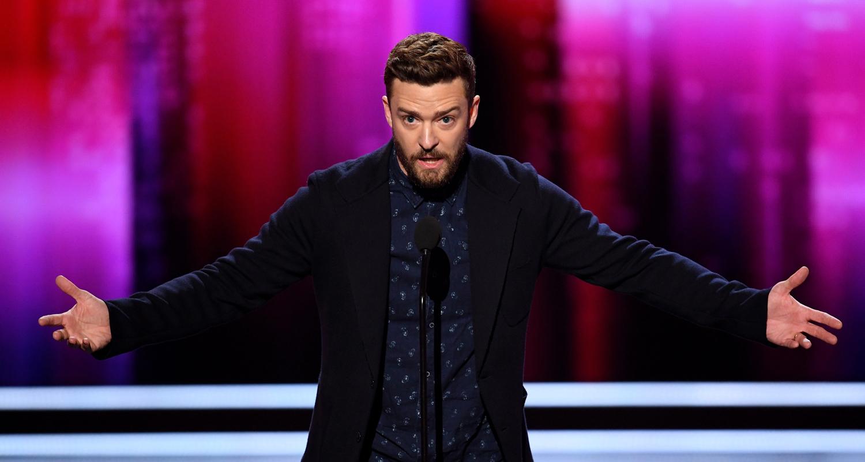 Justin Timberlake Wins...