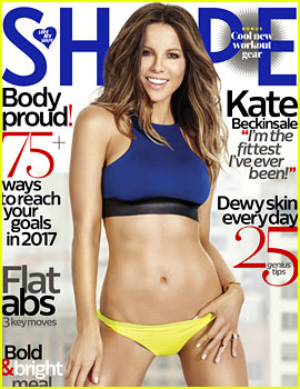 Kate Beckinsale Shows Off Her Amazing Abs for 'Shape'!