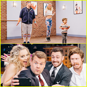 VIDEO: Kate Hudson & James Corden Take Dance Lessons From Kids In 'Toddlerography' Sketch!