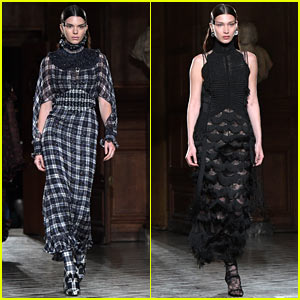 Kendall Jenner & Bella Hadid Hit the Runway for Givenchy During Paris Fashion Week