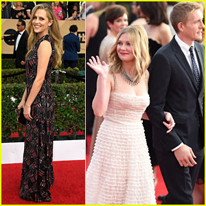 Kirsten Dunst & Teresa Palmer Both Bring Dates to SAG Awards 2017!