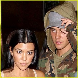 Kourtney Kardashian & Justin Bieber Spark More Romance Rumors After New Photos Surface