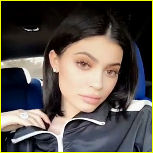 Kylie Jenner Debuts Dark Bob Haircut After Blonde Dye Job Seemingly Goes Wrong