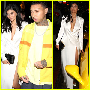 Kylie Jenner Looks Sexy on Date Night with Tyga