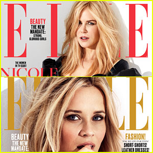 Nicole Kidman & Reese Witherspoon Cover 'Elle' with 'Big Little Lies' Co-Stars!