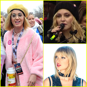 2017 Women's March - Full Coverage of Celeb Appearances!