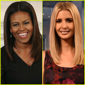 Michelle Obama & Ivanka Trump Met For Over An Hour