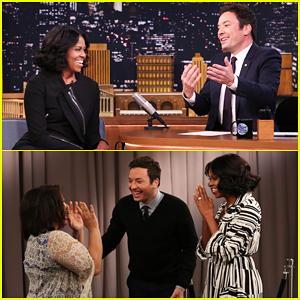 VIDEO: Michelle Obama Surprises People Recording Goodbye Messages To Her On 'Tonight Show'!