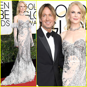 Nicole Kidman & Keith Urban Are One Gorgeous Couple at Golden Globes 2017!