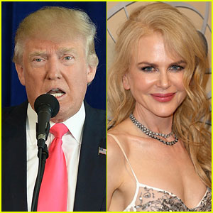 Nicole Kidman on Donald Trump: We 'Need to Support Whoever Is the President'