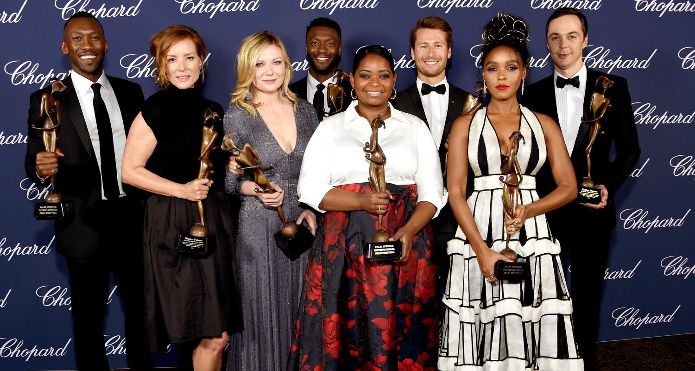 Hidden figures - Octavia Spencer Hidden Figures Cast Win Big At Palm Springs Film Festival 2017 Aldis Hodge Glen Powell Janelle Monae Jim Parsons Kirsten Dunst