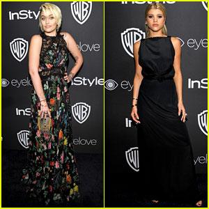 Paris Jackson & Sofia Richie Meet Up for Golden Globes After Party 2017