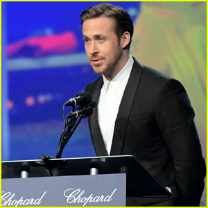 Ryan Gosling Thanks Debbie Reynolds During PSIFF Acceptance Speech