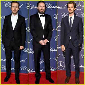 Ryan Gosling Attends Palm Springs Film Fest Sans Sick Emma Stone