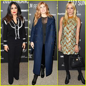 Salma Hayek, Connie Britton & Chloe Sevigny Team Up In 'Beatriz At Dinner' - Watch Teaser!