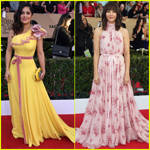 Salma Hayek & Rashida Jones Stun at SAG Awards 2017