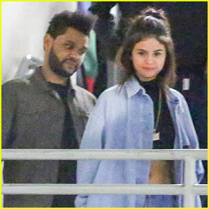 Selena Gomez & The Weeknd Hold Hands for Date Night!