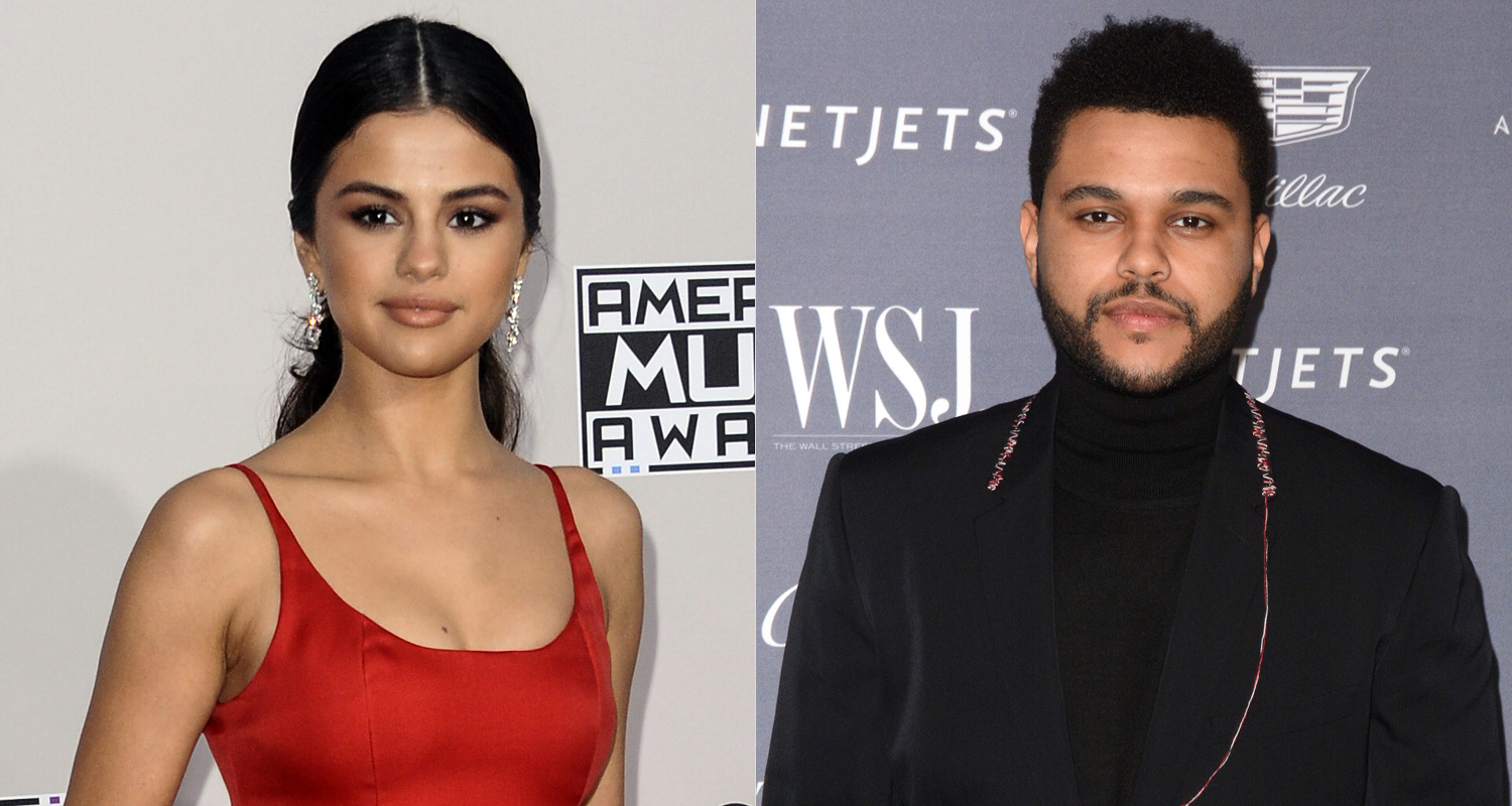 Selena Gomez & The Weeknd Kiss in New Photos