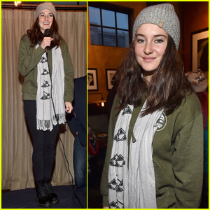 Shailene Woodley Supports Standing Rock at Sundance 2017