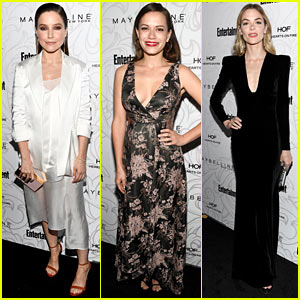 Sophia Bush & Bethany Joy Lenz Have 'One Tree Hill' Reunion at EW's SAG Party