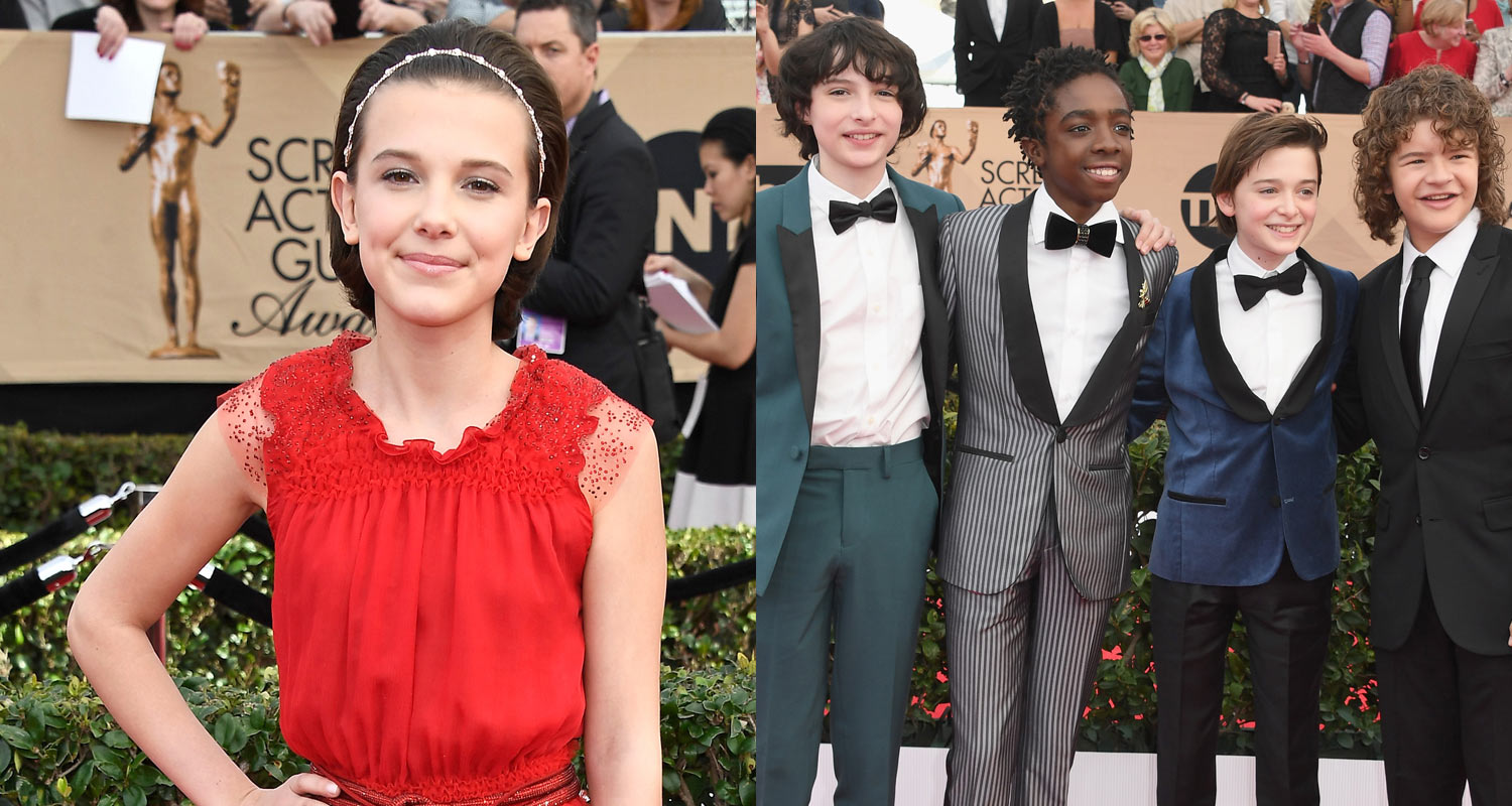 Stranger Things' Cast Promotes Season 2 in Beverly Hills | Caleb ...