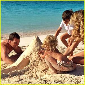 Tom Brady, Wife Gisele Bundchen, & Kids - See Family Photos!