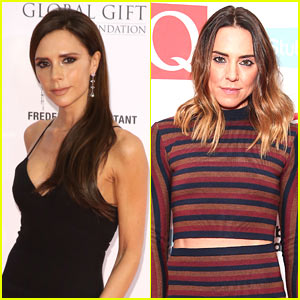 VIDEO: Victoria Beckham & Mel C Have Mini Spice Girls Reunion on Stage!