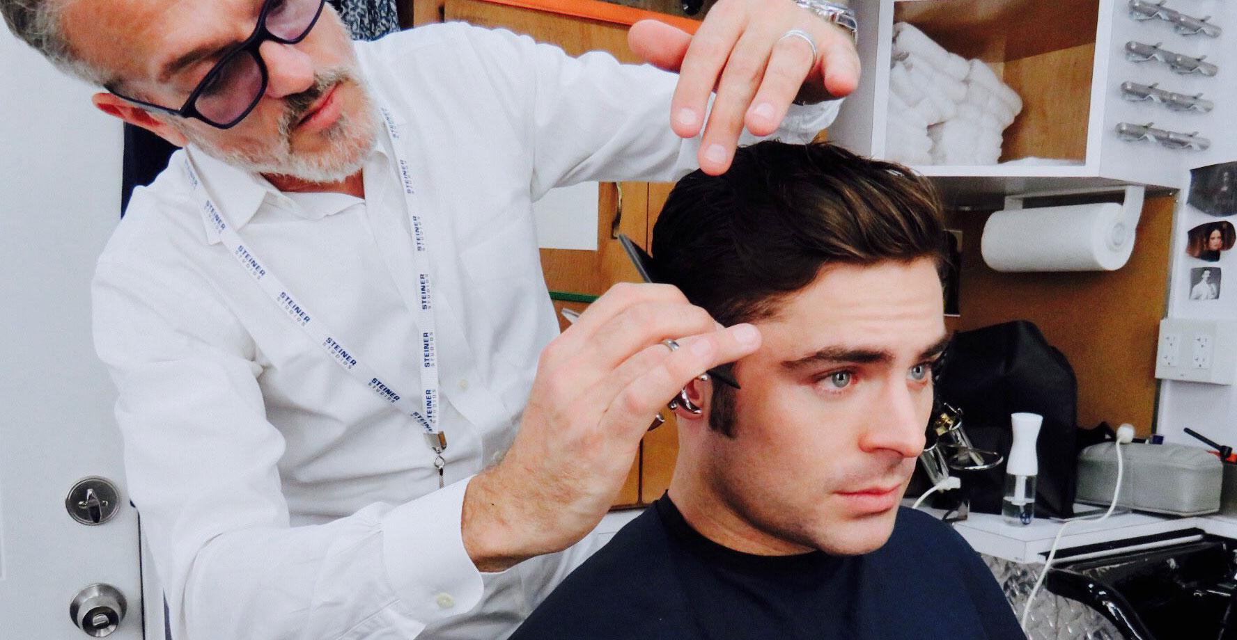Zac efrons haircut